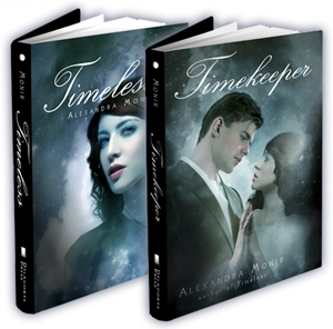 Timeless and Timekeeper by Alexandra Monir