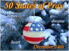 50 States of Pray Banner