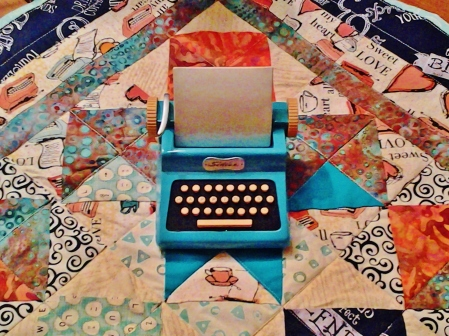 Love Notes Art Quilt by Susan Redstreake Geary (Mom)